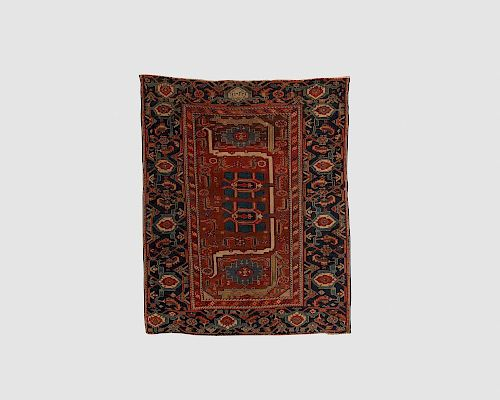 South Caucasian Rug, dated