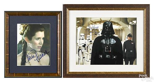 Two pieces of Star Wars ephemera