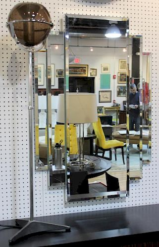 MIDCENTURY .Mirror and Standing Lamp