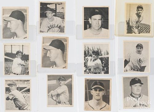 Complete set of 1948 Bowman baseball cards