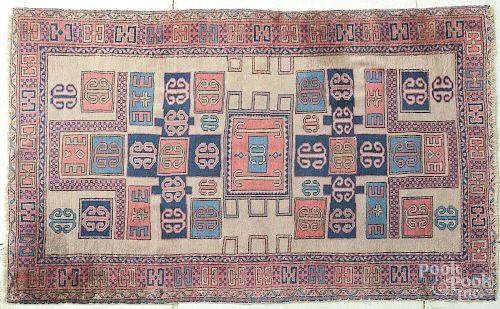 Sem-antique Sparta carpet, 7'5'' x 4'9''.