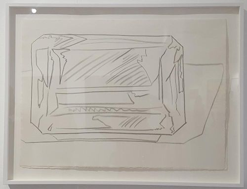 "Andy Warhol (1928-1987) original graphite drawing for ""Gems"""