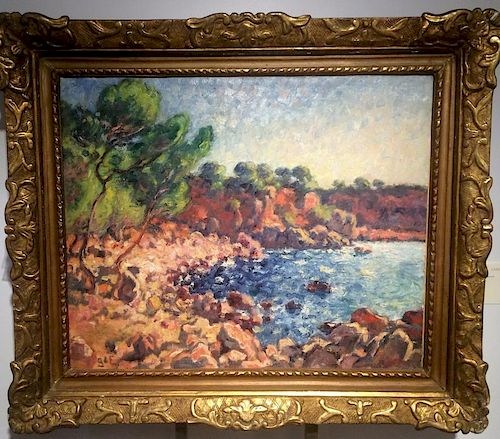 Georges D'Espagnat (1870-1950) French Impressionist Painting