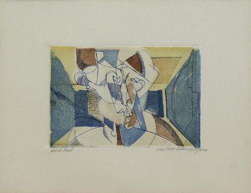 QUAYTMAN, R.H. Color Etching and Aquatint.