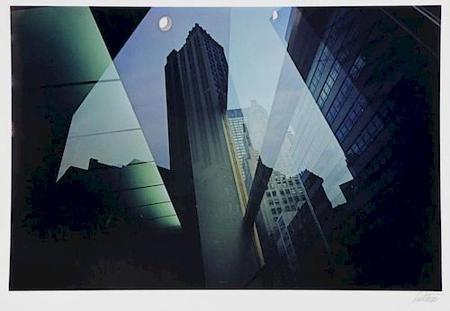 "HAAS, Ernst. Color Photograph. ""Reflection"