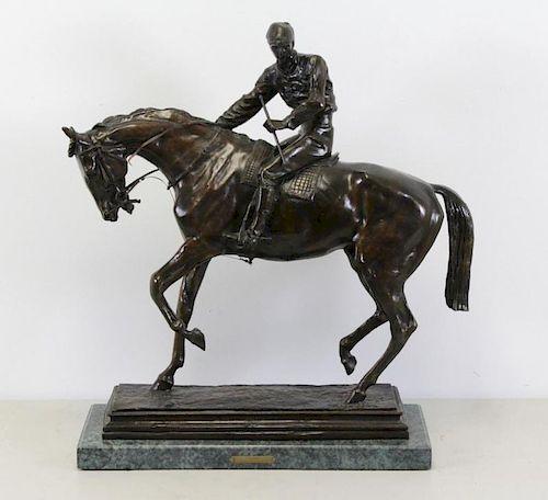 "BONHEUR, Isidore-Jules. Bronze. ""Le Grand"