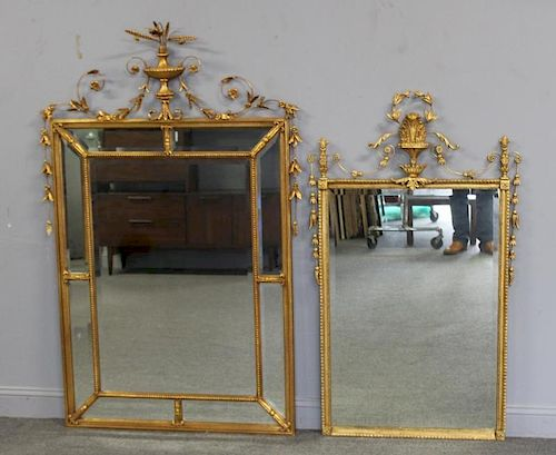 2 Similar Fine and Custom Quality Giltwood