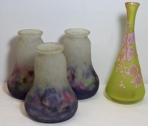 Art Glass Grouping.