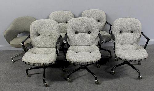 MIDCENTURY. 6 Knoll International Upholstered