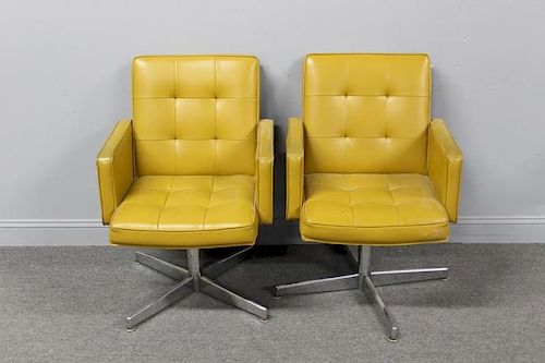 MIDCENTURY, Shaw and walker Pair Of Swivel