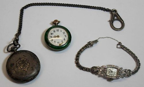 JEWELRY. Assorted Ladies Watch and Pocket Watch