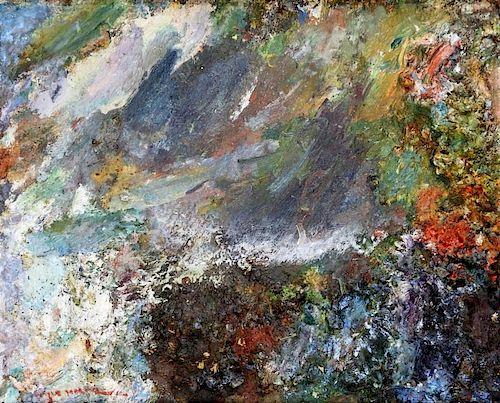 Wayne Morrell Experimental Impressionist Landscape