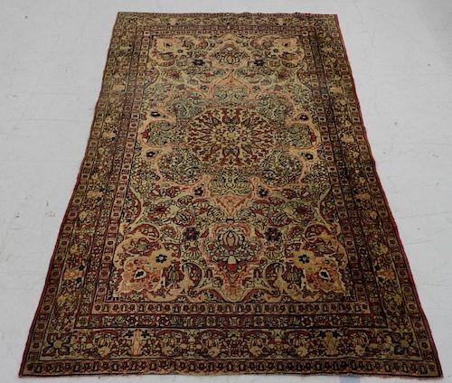 FINE Persian Kerman Wool Carpet Rug