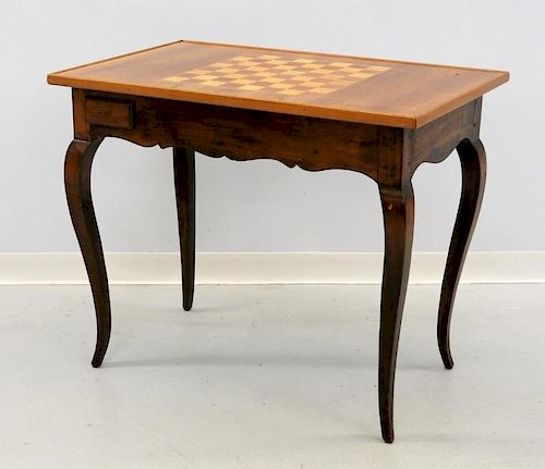French Bloomingdale's Provincial Game Table