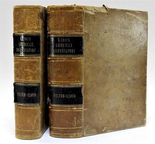 2 19C King's American Dispensatory Medical Books
