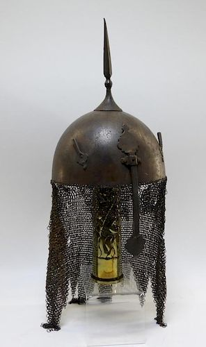 Indo Persian Ottoman Turkish Khula Khud Helmet