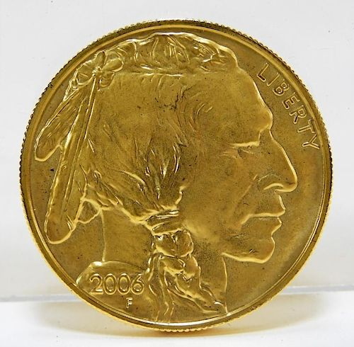 US 2006 Buffalo Proof $50 One Ounce Gold Coin