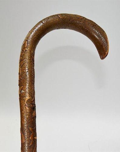 1893 Chicago Worlds Fair Walking Stick Cane