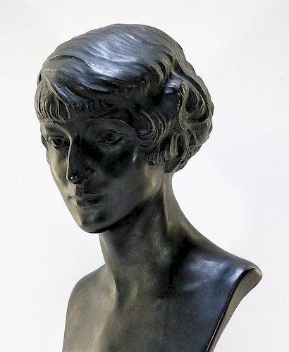 Anna Coleman Ladd Bronze Bust of Margaret Sanger