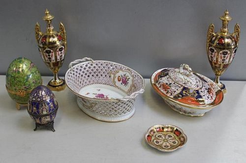 Royal Crown Derby, Limoges and  Vienna Porcelain