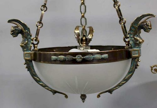 Vintage and Fine Quality Polished Steel and Etched