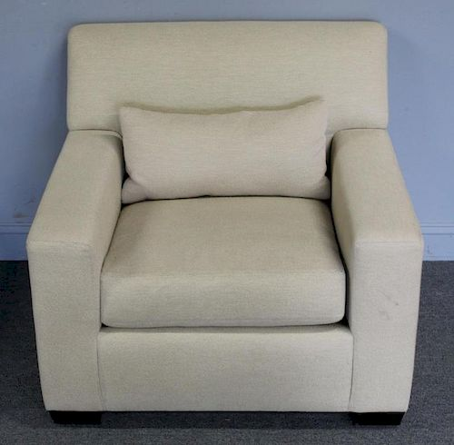 Holly Hunt, Christian Liagre Upholstered Armchair.