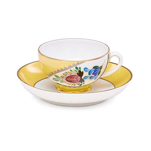 ZINAIDA KOBYLETSKAYA Cup and small dish