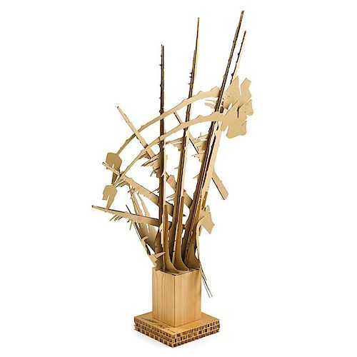 ALBERT PALEY Cardboard maquette