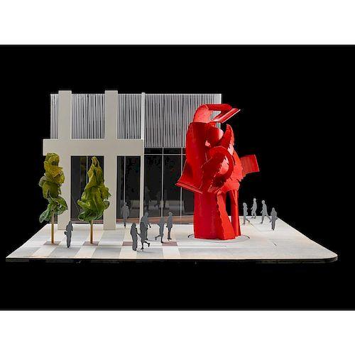 ALBERT PALEY 3-D proposal model