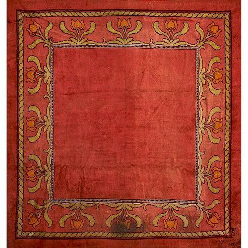 CHARLES F.A. VOYSEY (Attr.) Donnemara rug