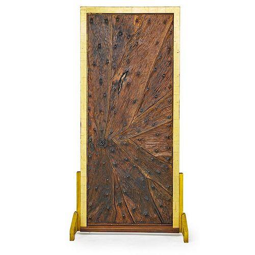 PHIL POWELL Important entryway door