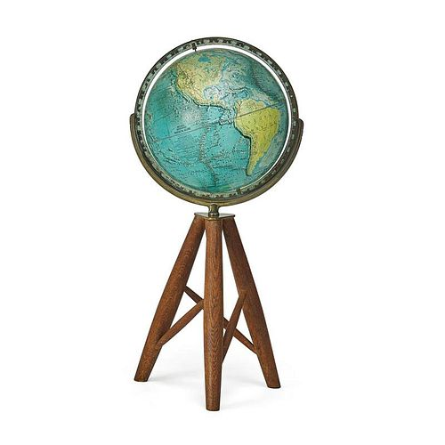 HANS WEGNER Globe on stand