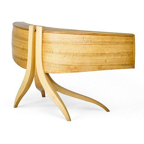 JERE OSGOOD Large curved desk