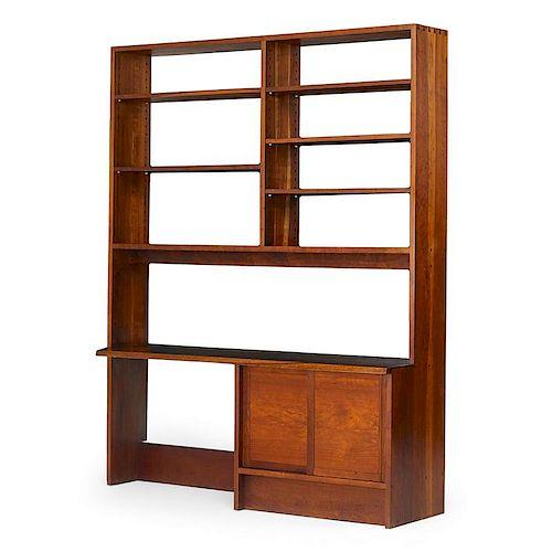 GEORGE NAKASHIMA Rare bookcase/desk