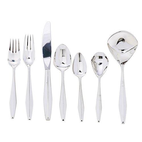 GIO PONTI Diamond flatware set