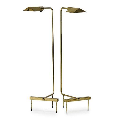 C. HARTMAN; J. LARSEN Adjustable floor lamps