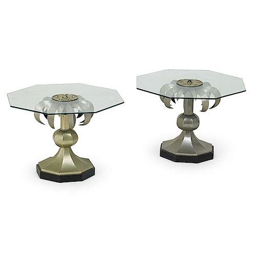 ANTHONY REDMILE (Attr.) Pair of side tables
