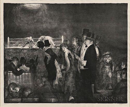 George Bellows (American, 1882-1925)  Preliminaries
