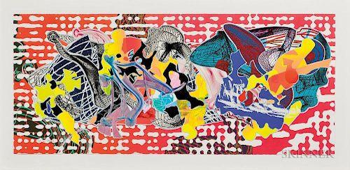 Frank Stella (American, b. 1936)  Libertina