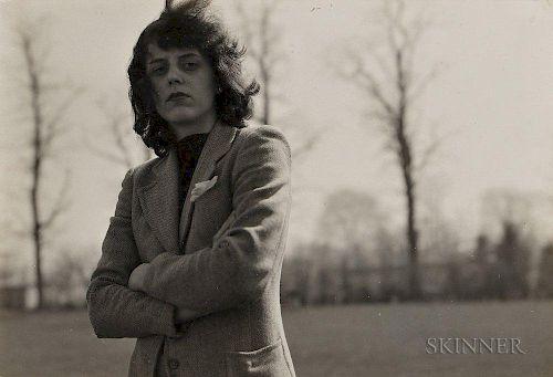 Diane Arbus (American, 1923-1971)  Portrait of Hope Greer Eisenman