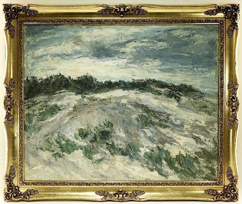 Margaret Crenson Impressionist Landscape Painting