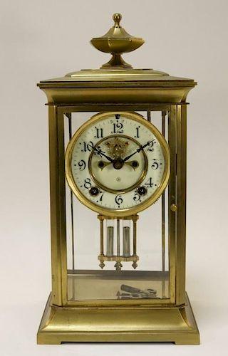 Ansonia American Brass Regulator Clock