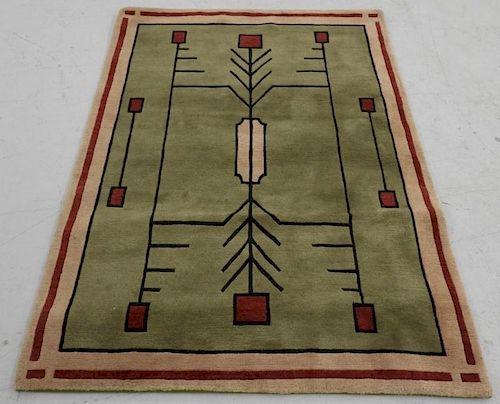 Modern Stickley Arts & Crafts Style Drugget Carpet