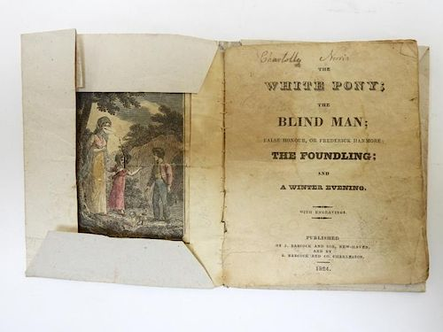 C.1824 American 5 Story Hand Colored Chapbook