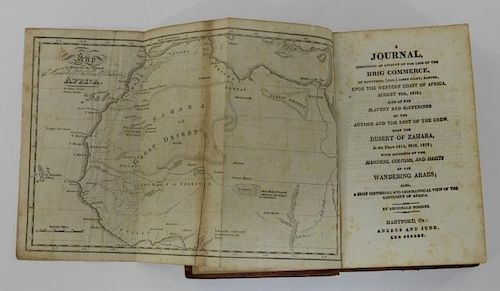 Archibald Robbins Slavery Geography Africa Book