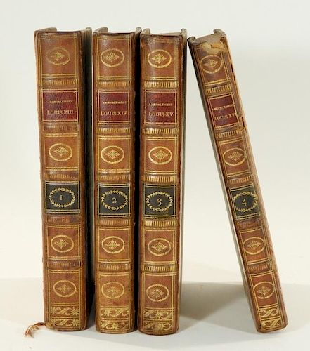 4 Vol. King Louis France French Furniture Books