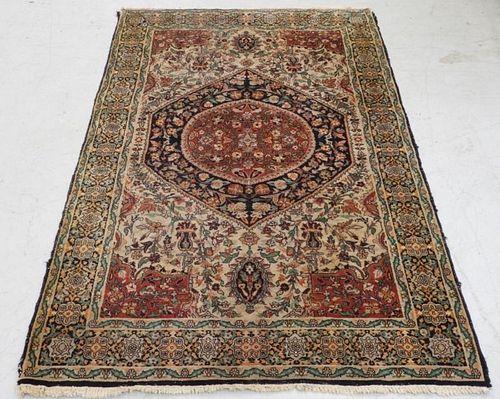 Persian Keshan Wool Carpet Rug