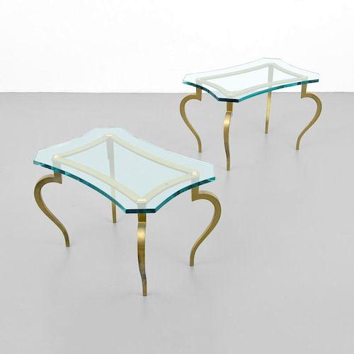 Pair of Side Tables, Manner of Maison Jansen