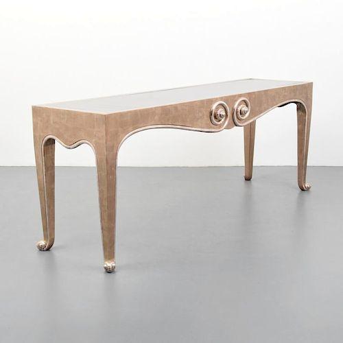 Large J. Robert Scott Console Table