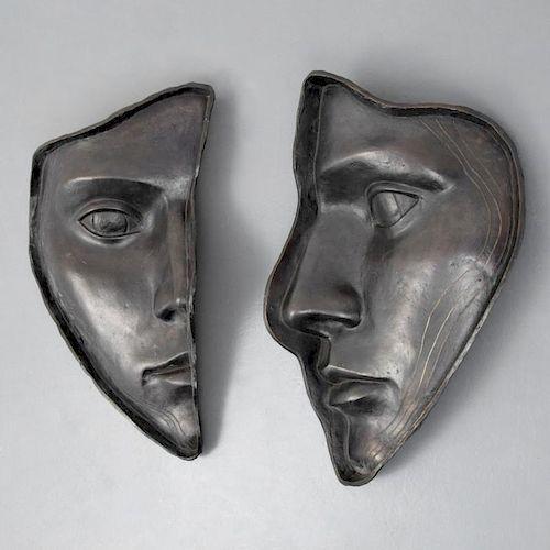 2 Large Hilde Maehlum Sculptures